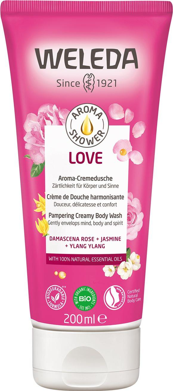 WELEDA Aroma Shower Love Tb 200 ml