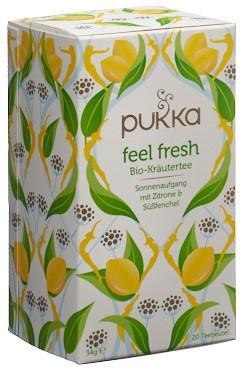 PUKKA Feel Fresh Tee Bio D Btl 20 Stk