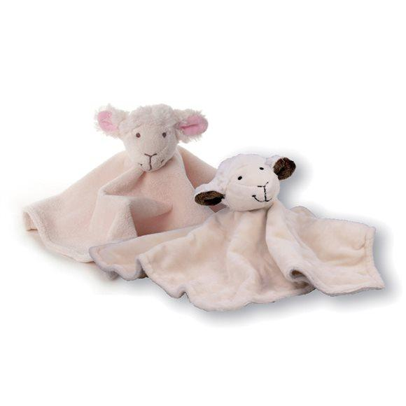 HERBORISTERIA Kuscheltuch Schaf beige