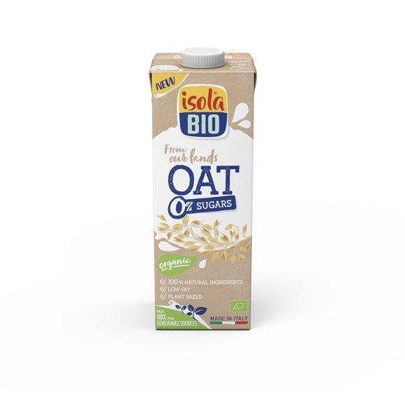 ISOLA BIO Hafer Drink 0% Zucker Tetra 1 lt
