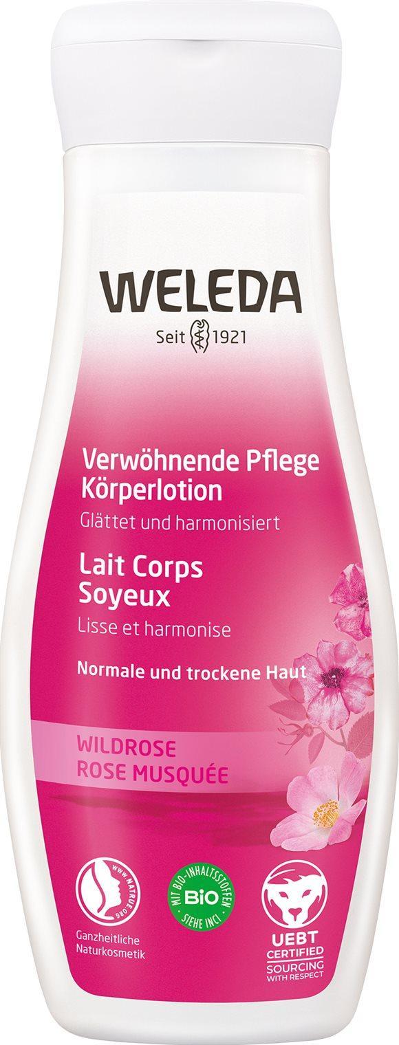 WELEDA Körperlotion Wildrose verwöhnend 200 ml