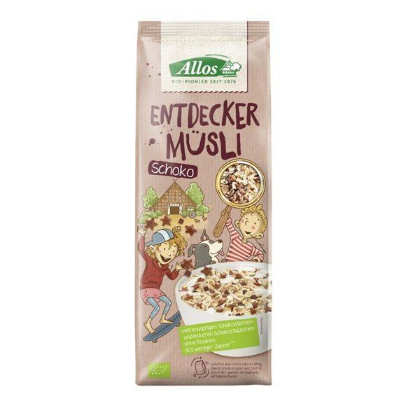 ALLOS Entdecker Müsli Schoko Btl 750 g