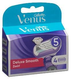 GILLETTE Venus Deluxe Smooth Klingen Swirl 4 Stk