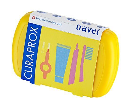 CURAPROX Travel Set gelb