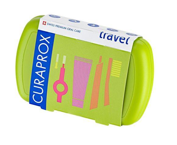 CURAPROX Travel Set grün