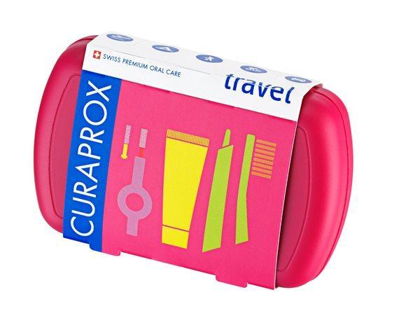 CURAPROX Travel Set magenta