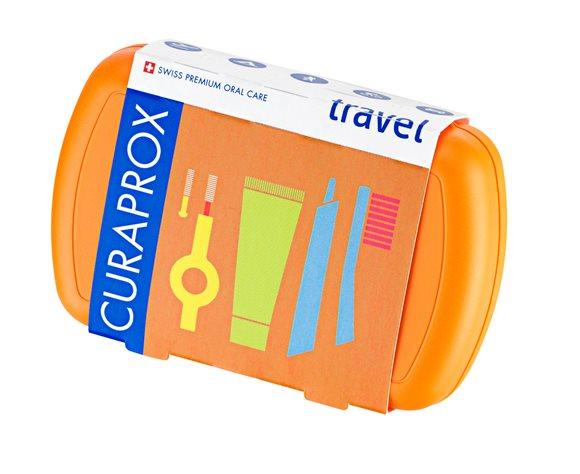 CURAPROX Travel Set orange