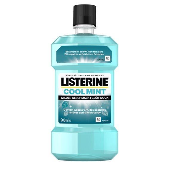 LISTERINE Coolmint mild Fl 500 ml