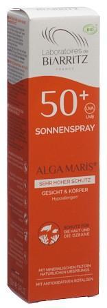 BIARRITZ Sonnenspray LSF50+ ohne Parfum 100 ml