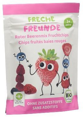 FRECHE FREUNDE Fruchtchips roter Beerenmix 10 g