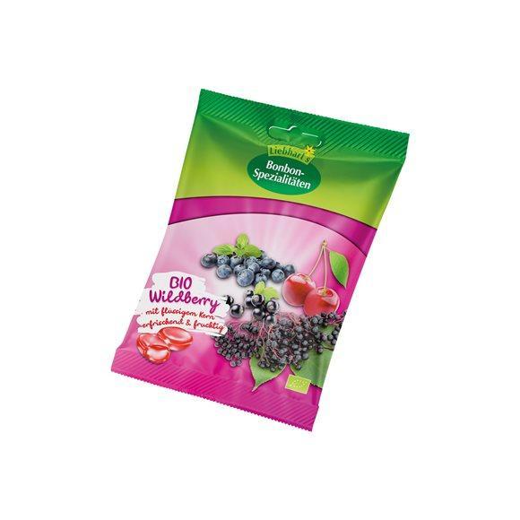 LIEBHARTS Bonbons Wildberry Bio Btl 100 g