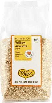 WERZ Vollkorn Amaranth gepufft glutenfrei 125 g